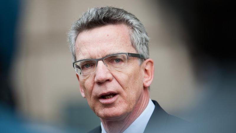 Fordert eine bessere Verteilung von Flüchtlingen: Bundesinnenminister Thomas de Maizière.