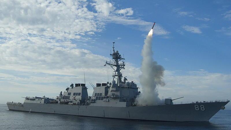 Kriegsschiffe im Persischen Golf