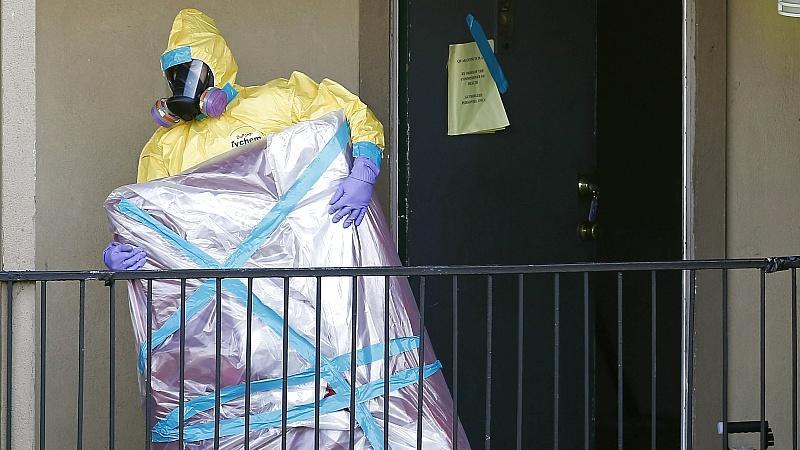 Ebola in USA erstmals von Mensch zu Mensch übertragen