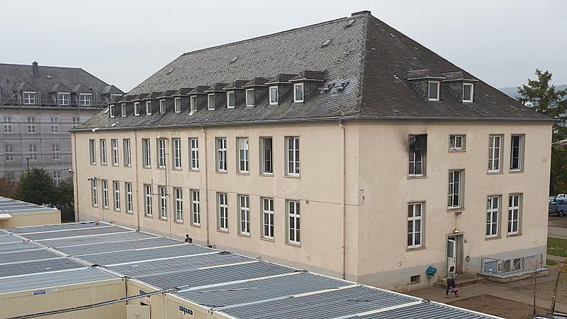 In diesem Gebäude in Trier war es zu dem Brand gekommen.