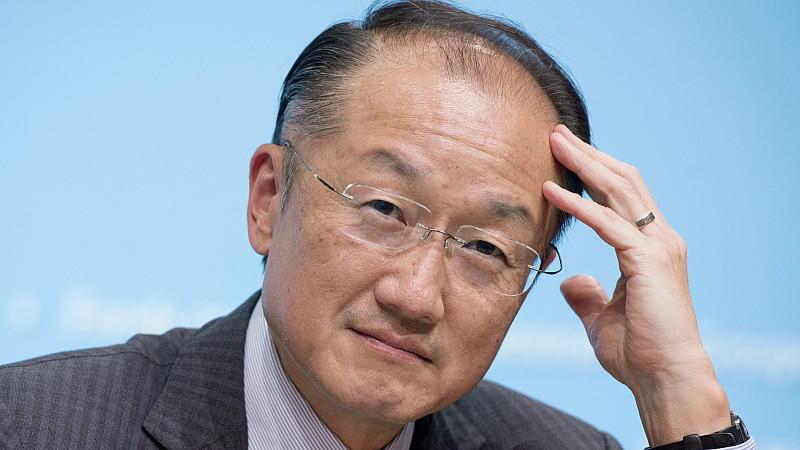Weltbank-Chef Jim Yong Kim warnt vor den Folgen des Klimawandels.
