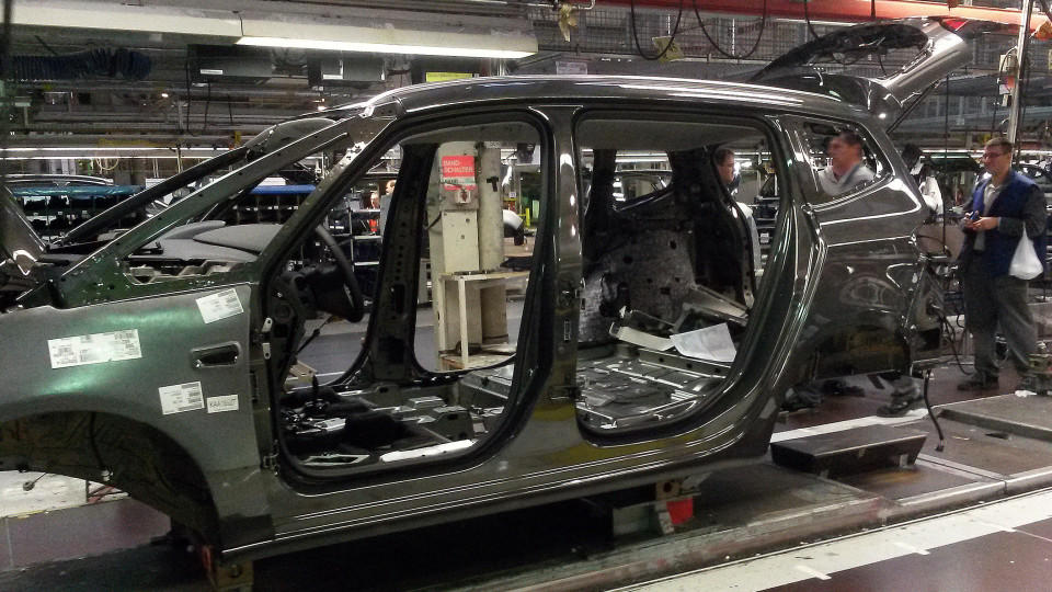 Opel schließt Standort in Bochum.