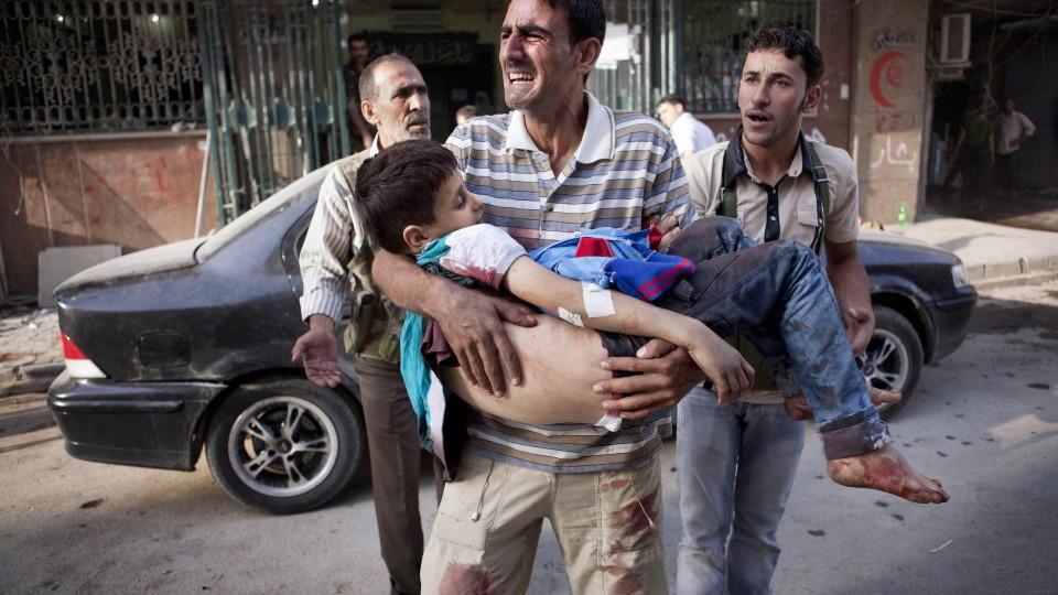 Syrien-Krieg: 76.000 Tote in nur einem Jahr