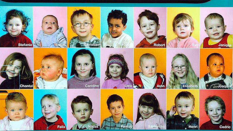 Kinderfotos (Archivfoto aus dem April 2004).