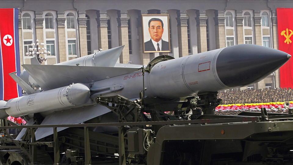 Mit Tests von Raketen provoziert Nordkorea seinen südkoreanischen Nachbarn, nach Angaben aus Südkorea.