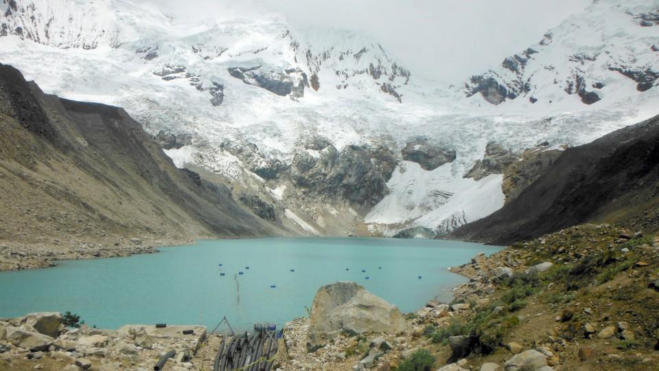 Der Gletschersee Palcacocha