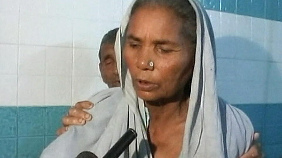 Die älteste Mutter der Welt Omkari Panwar