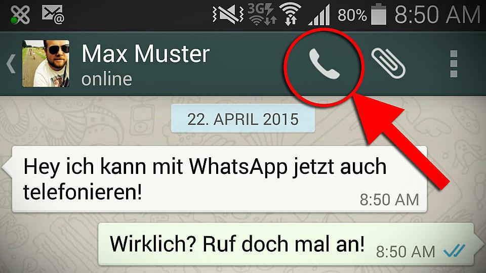 WhatsApp führt Anruf-Funktion jetzt auch für iOS-Geräte ein