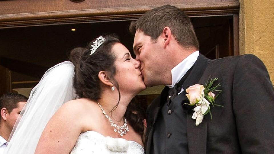 Bauer sucht Frau: Guy und Victoria nach der Trauung