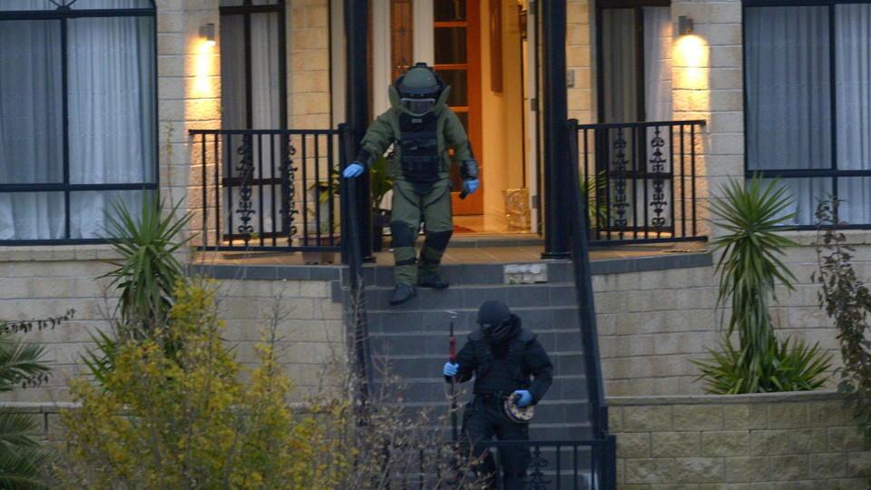 Anti-Terror-Einsatz in Melbourne
