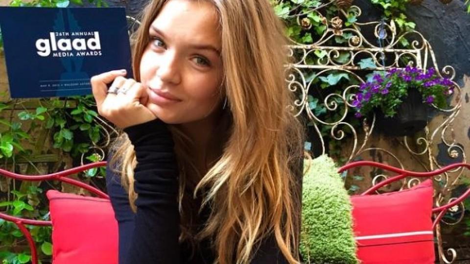Supermodel Josephine Skriver wurde durch eine künstliche Befruchtung gezeugt