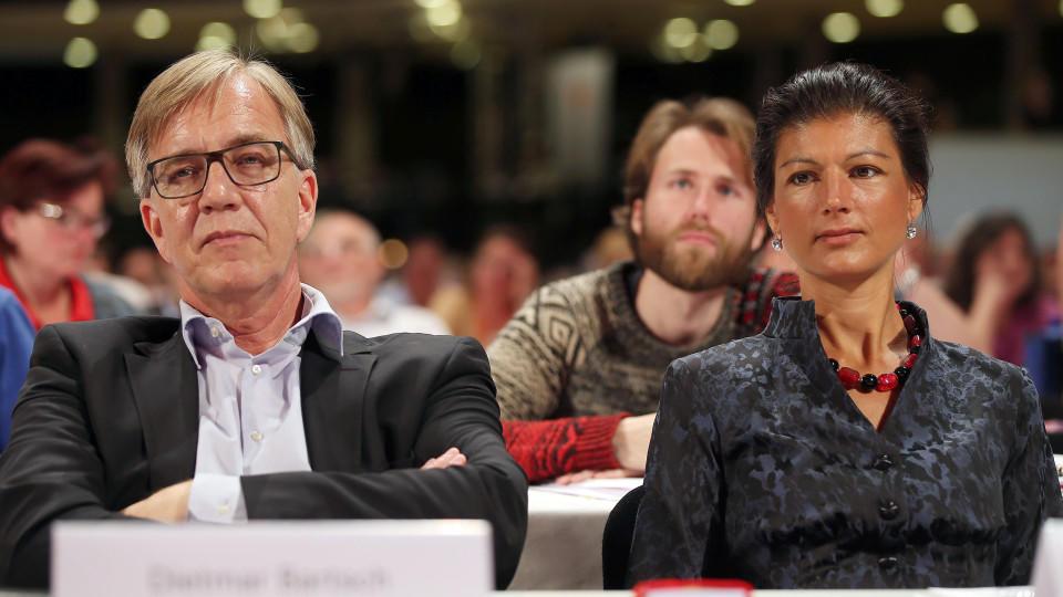 Sahra Wagenknecht und Dietmar Bartsch.