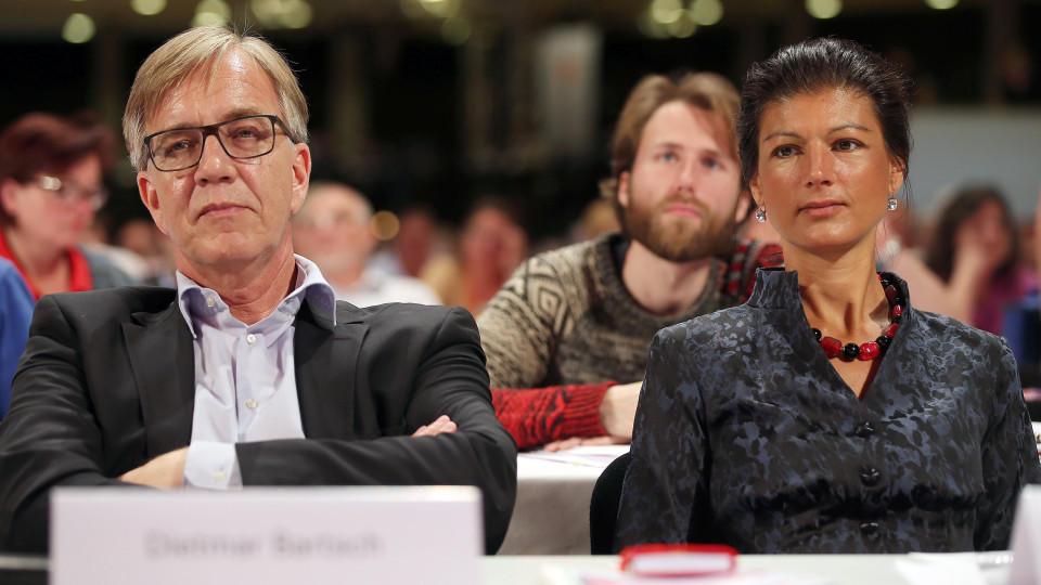 Dietmar Bartsch und Sahra Wagenknecht