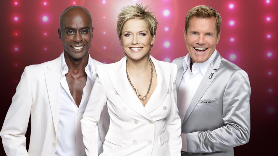 Das Supertalent 2015: Inka Bause sitzt neben Dieter Bohlen und Bruce Darnell in der Jury