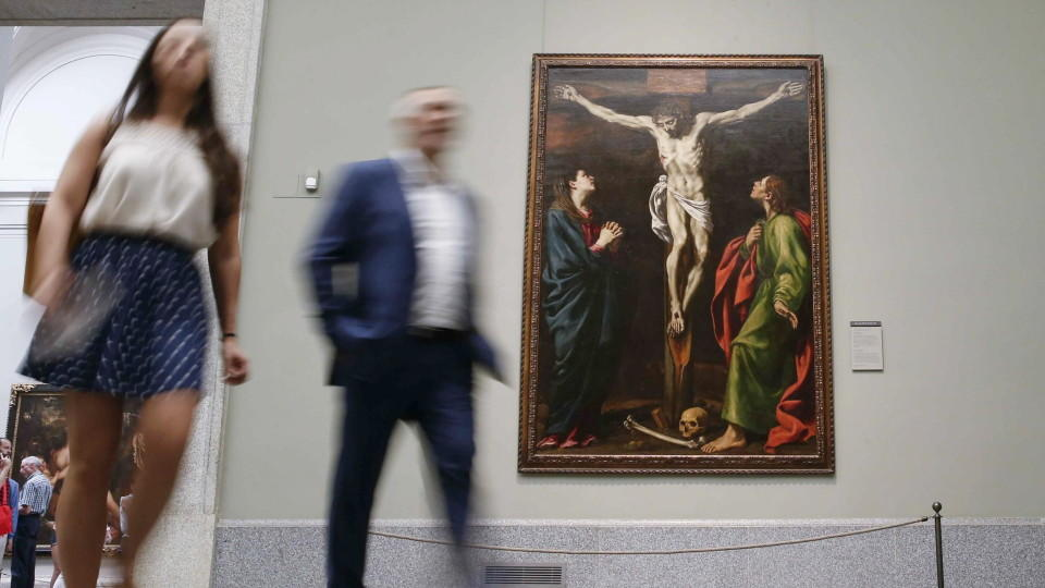 Im berühmten spanischen Kunstmuseum Prado gibt es jetzt eine Ausstellung speziell für Blinde.