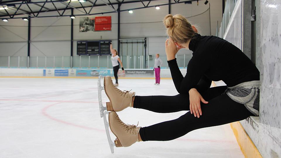 Eine neue Eiskunstläuferin, die derzeit noch nicht gezeigt wird, wird ab Oktober 2015 bei AWZ zu sehen sein.