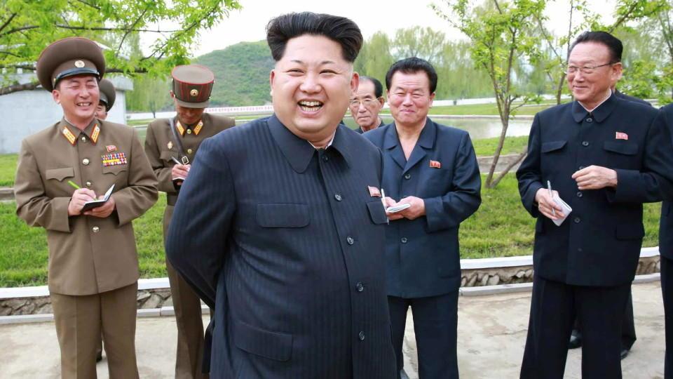 Nordoreas Machthaber Kim Jong-un