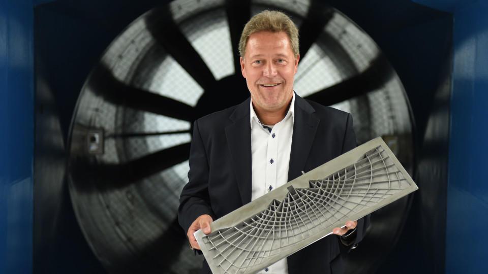 Peter Sander, Vizepräsident der Abteilung Neue Technolgien & Konzepte bei Airbus