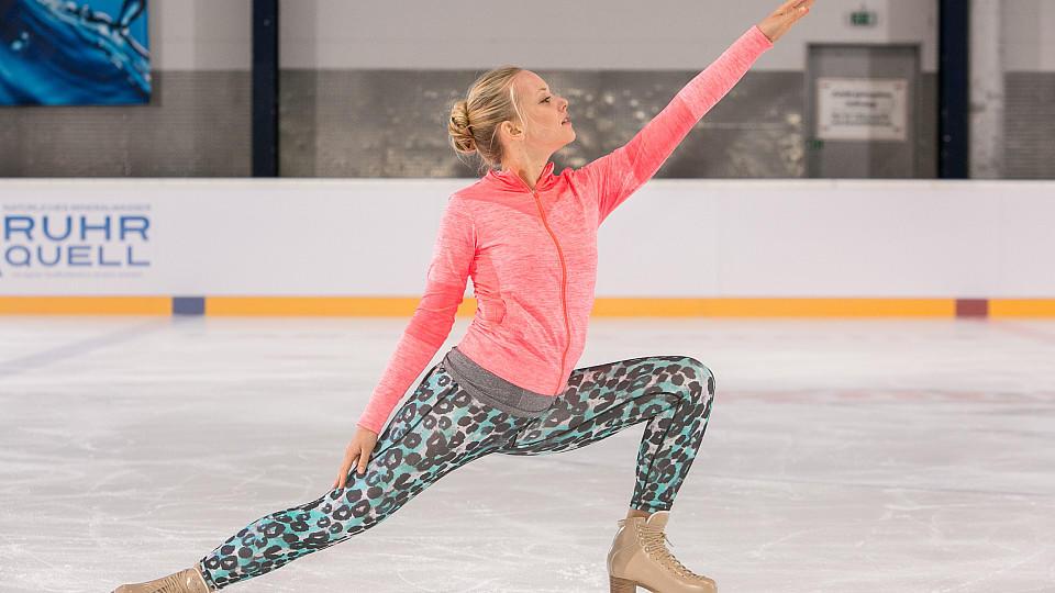 Judith Neumann ist die neue Eislauf-Queen von AWZ.