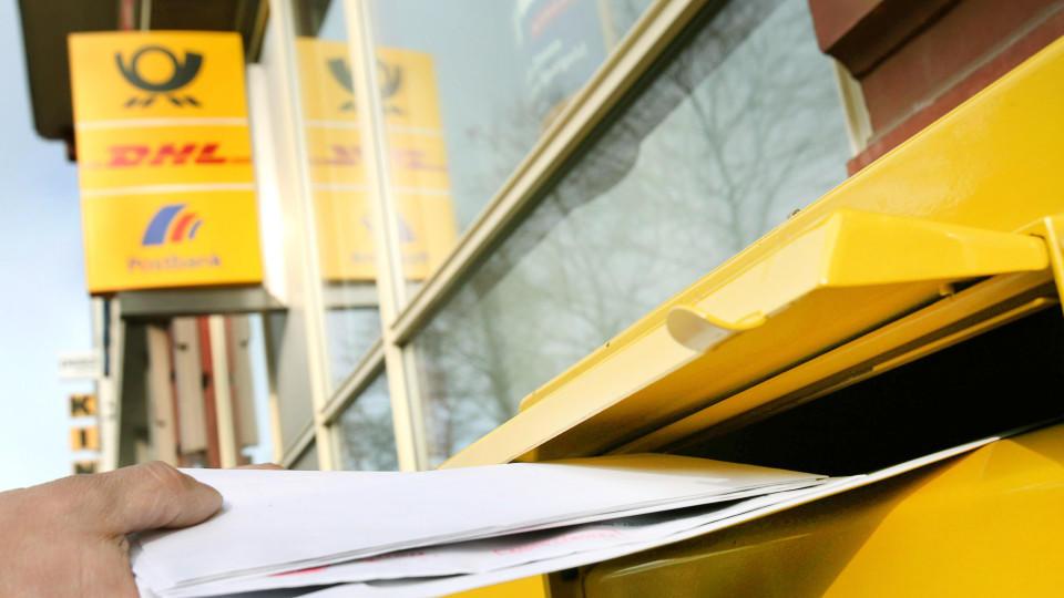 Deutsche Post verschickt Brief-Ankündigung per E-Mail.
