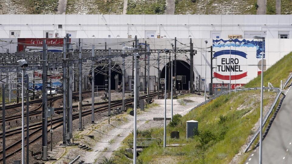 Eurotunnel zwischen Calais und Dover