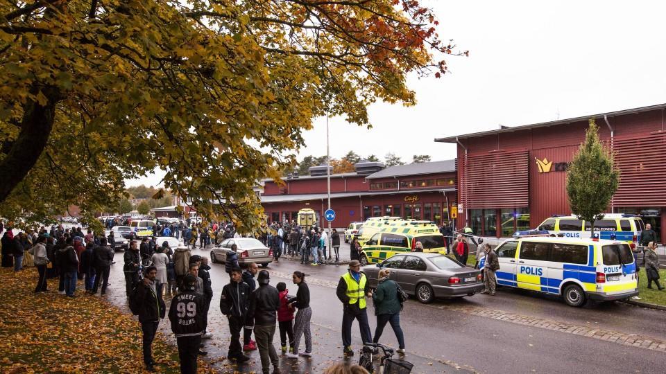 Schwertattacke in Trollhättan war fremdenfeindlich.