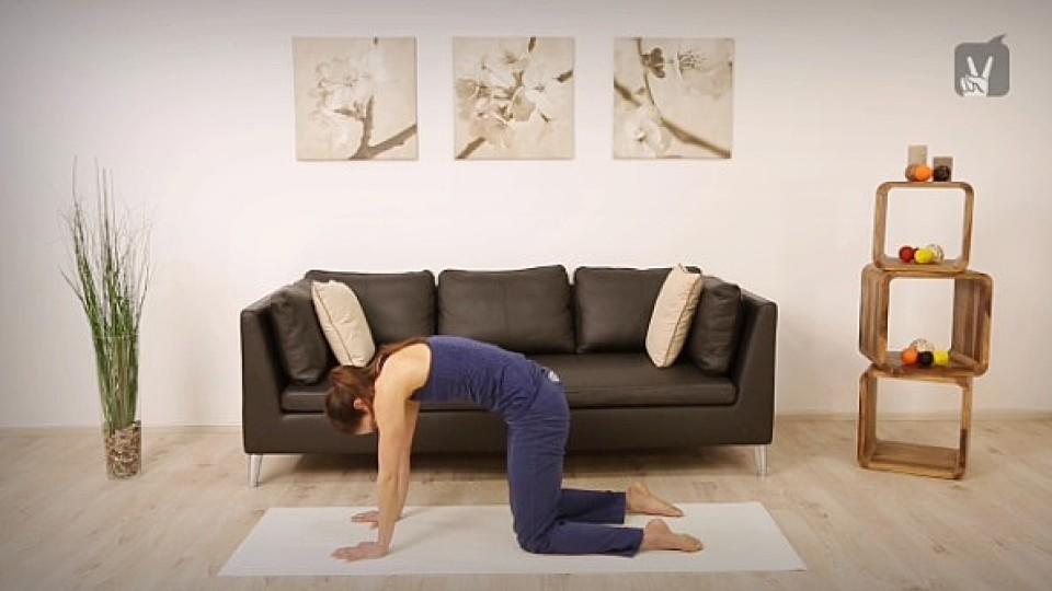 Yoga gegen Stress: Ihr Workout zur Entspannung