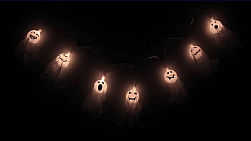 Halloween Deko Selber Machen Anleitung Für Eine Tolle Geistergirlande
