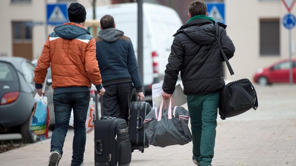 Junge Flüchtlinge