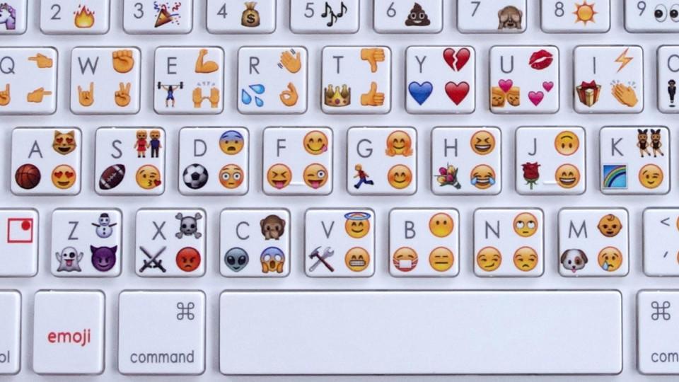 Tastatur computer smileys 🤷 Shrug