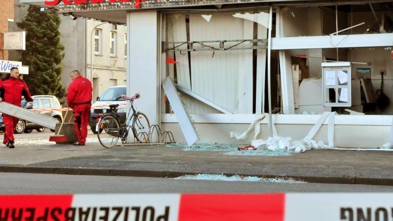 Serie von Geldautomaten-Sprengungen in NRW