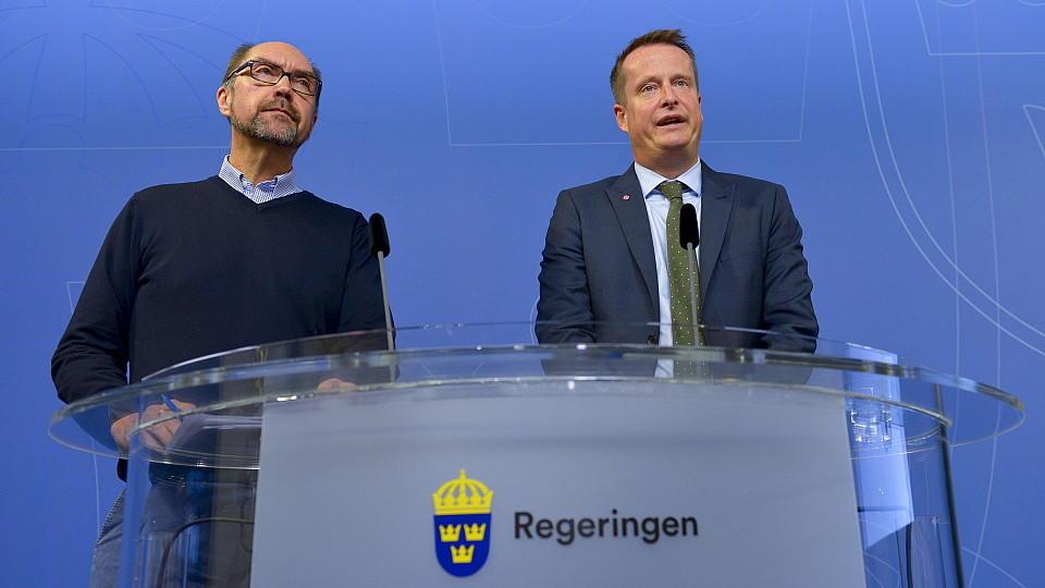 Schweden führt vorübergehende Grenzkontrollen ein