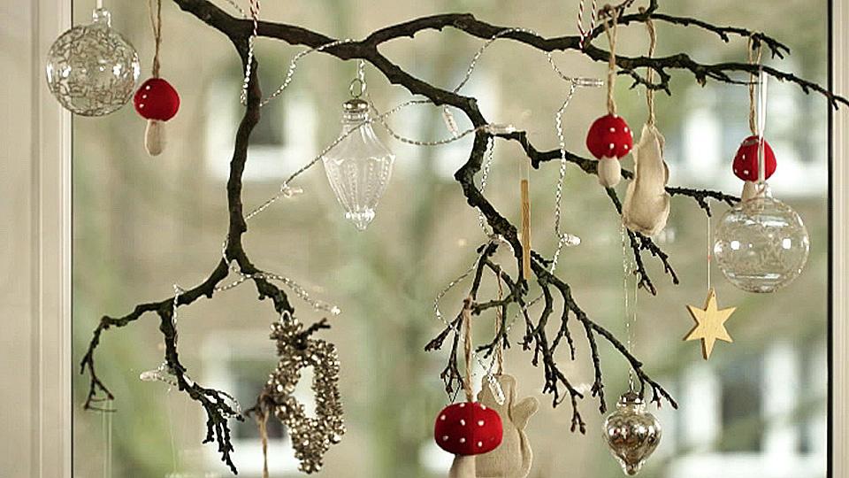 Weihnachtsdeko Basteln Kreative Fenster Deko Selber Machen