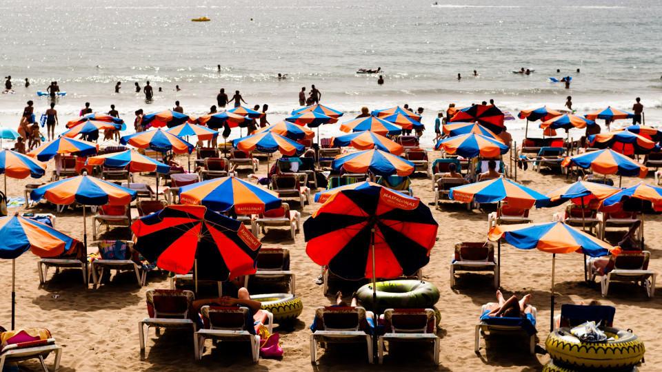 der Strand Playa del Inglese
