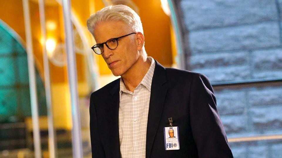 "Ted Danson in ""CSI: Cyber"" alias D.B. Russell"