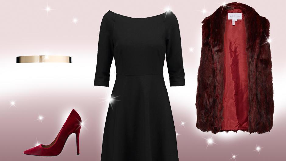Schwarzes Kleid Kombinieren Ein Kleid Drei Looks