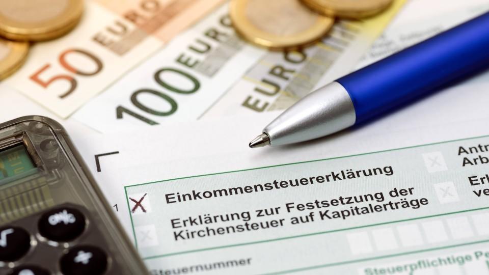 Jedes Jahr muss sie aufs Neue gemacht werden: die Steuererklärung.