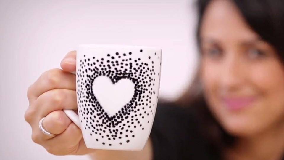 Tasse Bemalen So Gelingt Die Individuelle Geschenkidee