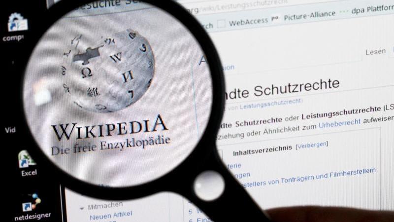 In Deutschland liegt Wikipedia aktuell auf Platz 7 der meistbesuchten Websites.Foto: Jens Büttner