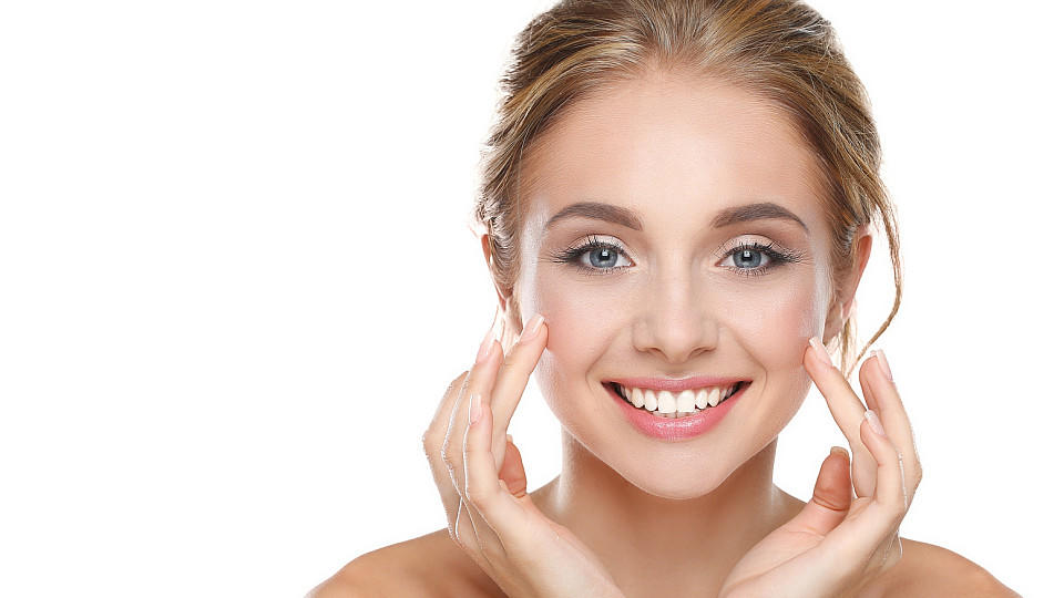 Tages-Make-up in drei Minuten