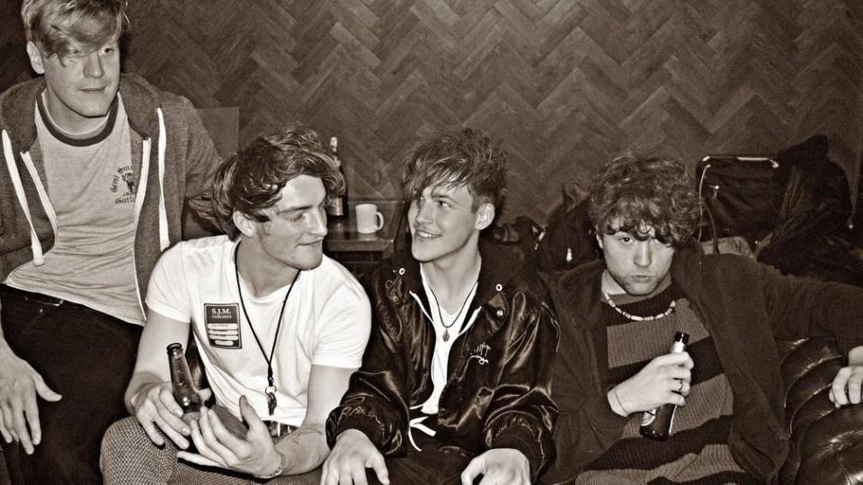 Die britische Indie-Pop-Band 'Viola Beach'.
