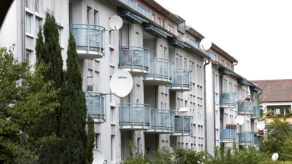 Viele Wohnungen in Deutschland stehen leer, viele sind sofort verfügbar.