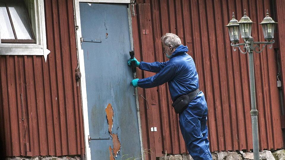 In diesem Haus in Knislinge bei Kristianstad hielt der Arzt die Frau gefangen.