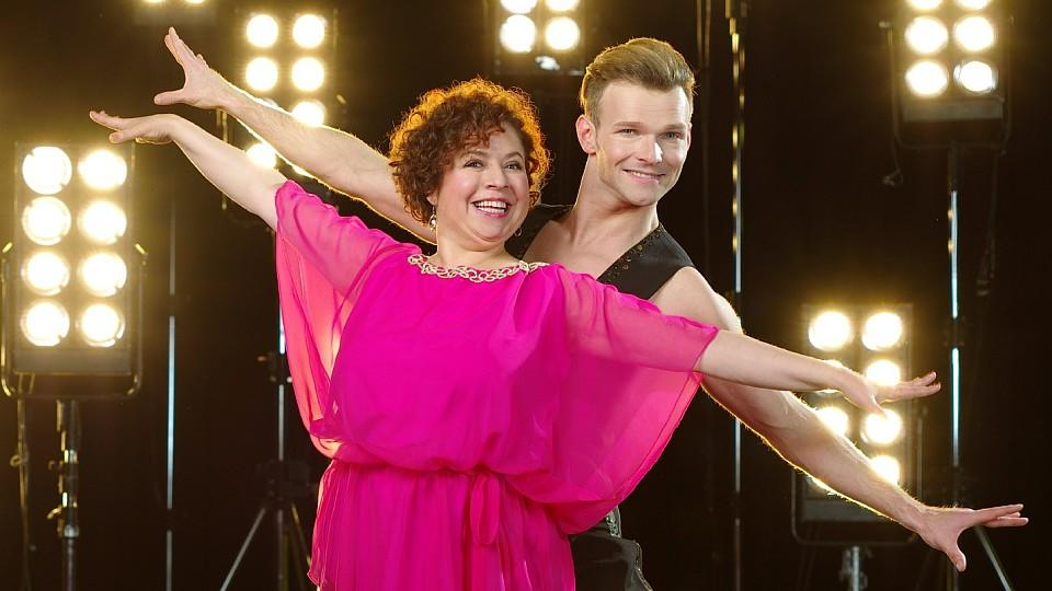 """Franziska Traub hat bei """"Let's Dance"""" mit Vadim Garbuzov getanzt."""