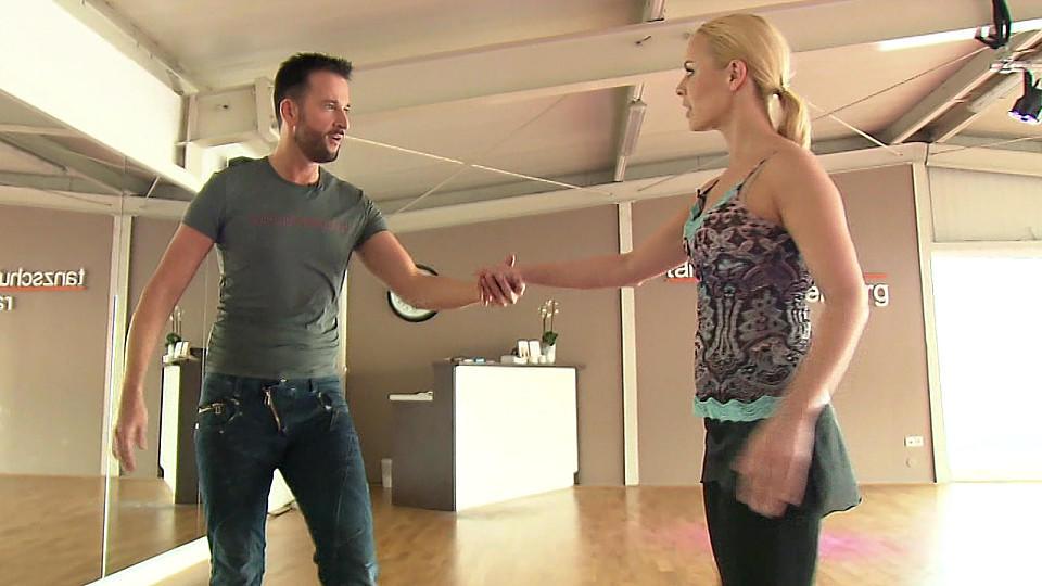 """Michael Wendler trainiert fleißig für die erste """"Let's Dance""""-Show."""
