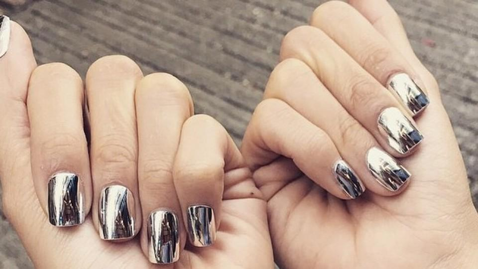 Chrome Nails Mirror Nails Was Taugt Der Verspiegelte Manikure Trend