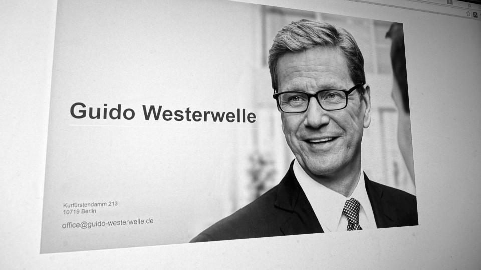 Guido Westerwelle starb im Alter von 54 Jahren.