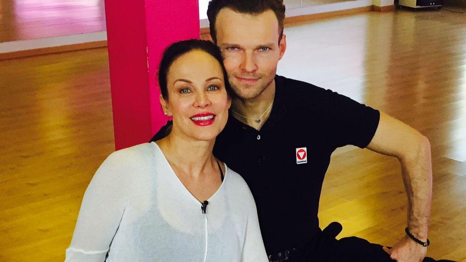 """Let's Dance""-Kandidatin Sonja Kirchberger trainiert jetzt mit Vadim Garbuzov"