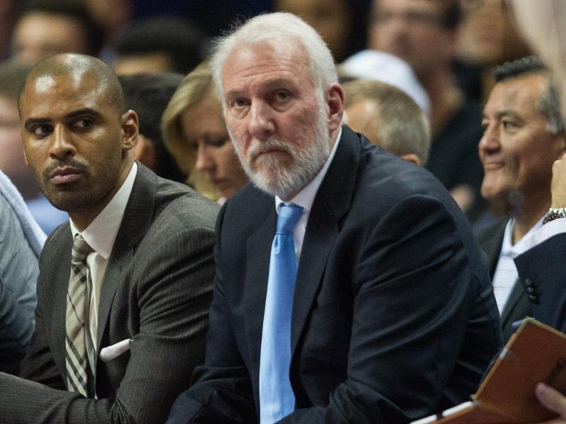 Gregg Popovich ist der große Lenker der San Antonio Spurs. Foto: Lukas Schulze