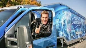 In Bern startet am 24. August 2012 die große DSDS-Casting-Truck-Tour zur Jubiläumsstaffel.